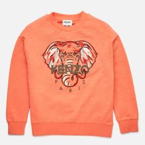 KENZO Boys' Elephant Sweatshirt - Orange