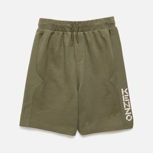 KENZO Boys' Logo Shorts - Khaki