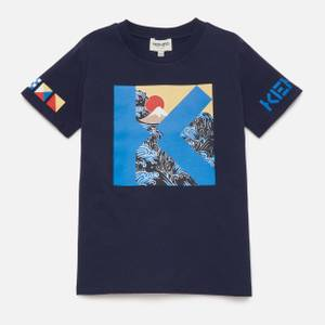 KENZO Boys' Linoi T-Shirt - Navy