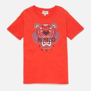KENZO Boys' Tiger T-Shirt - Tomato
