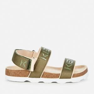 KENZO Kids' Larry Sport Sandals - Khaki