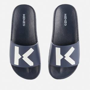 KENZO Kids' Slide Sandals - Navy