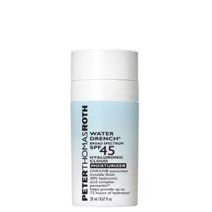 Peter Thomas Roth Water Drench Hyaluronic Cloud Moisturizer Travel Size SPF45 20ml
