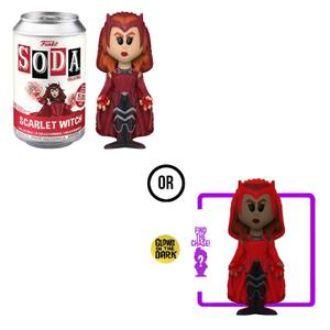 Marvel WandaVision Scarlet Witch Vinyl Soda Figure In Collector Can