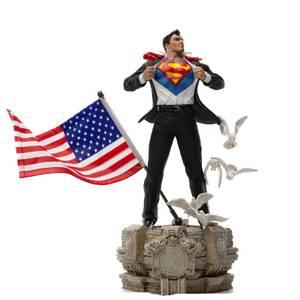 Iron Studios DC Comics Deluxe Art Scale Statue 1/10 Clark Kent 29 cm