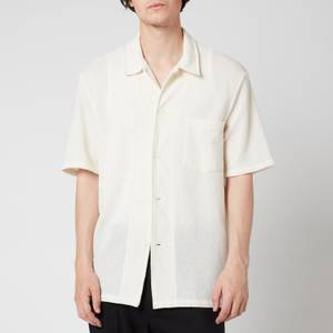 Our Legacy Men's Short Sleeve Box Shirt - White Boucle