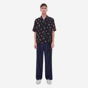 Our Legacy Men's Short Sleeve Box Shirt - Strobe Print