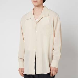 Our Legacy Men's Loco Shirt - Bone White Tech Wool