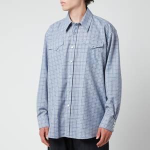 Our Legacy Men's Ranch Shirt - Blue Check