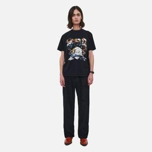 Our Legacy Men's Box T-Shirt - Black Moto Print