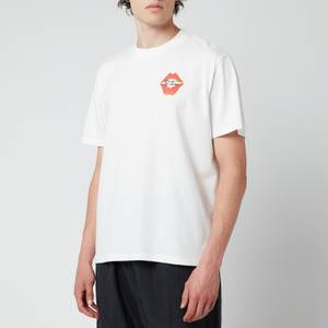 Our Legacy Men's Box T-Shirt - White Signature Kiss Print