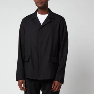 Our Legacy Men's Piraya Jacket - Black Panama Wool