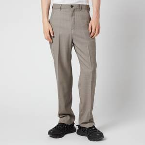 Our Legacy Men's Chinos - Stone Grey Wool