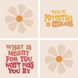 Your Potential Is Endless Coaster Set