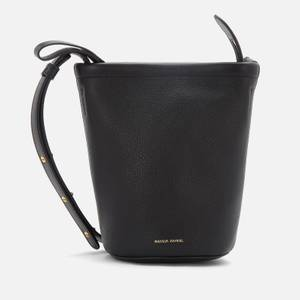 Mansur Gavriel Women's Mini Zip Bucket Bag - Black