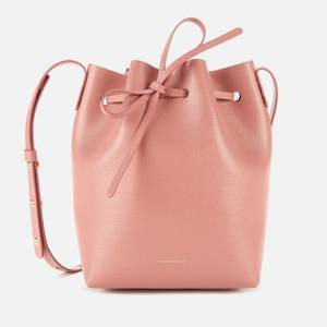 Mansur Gavriel Women's Mini Bucket In Saffiano Bag - Pink