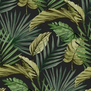 Palm House Green Wallpaper