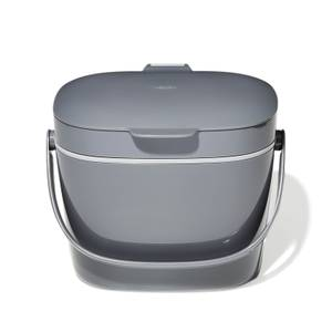 OXO Good Grips Easy Clean Compost Bin - 6.6L - Charcoal