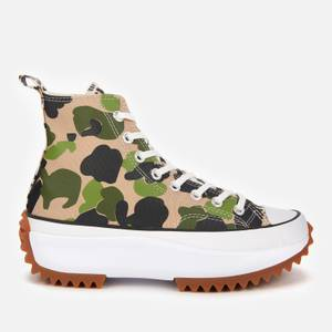 Converse Women's Run Star Hike Archive Gone Wild Hi-Top Trainers - Candied Ginger