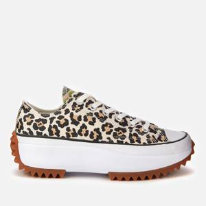 Converse Women's Run Star Hike Archive Gone Wild Ox Trainers - Driftwood/Light Fawn