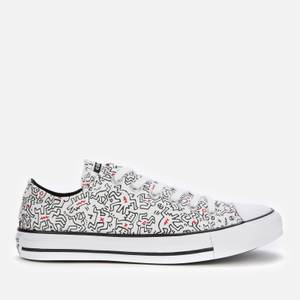 Converse Keith Haring Chuck Taylor All Star Ox Trainers - White/Black/Red