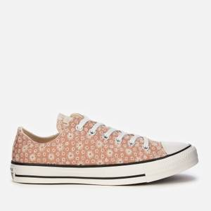 Converse Women's Chuck Taylor All Star Ox Trainers - Vachetta Beige/Natural Ivory/Vintage White