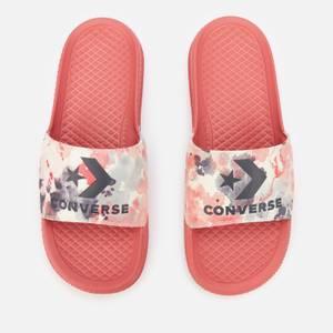 Converse Women's All Star Summer Fest Slide Sandals - Terracotta Pink/Egret/Storm Wind