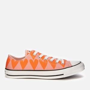 Converse Women's Chuck Taylor All Star Ox Trainers - Pink Quartz/Magma Orange/Vintage White