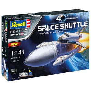 Gift Set Space Shuttle & Boosters 40th Anniversary - 1:144 Scale
