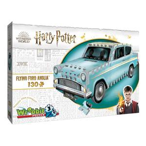 Harry Potter: Flying Ford Anglia 3D Puzzle (130 Pieces)