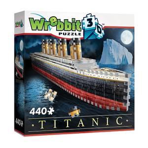 Titanic 3D Puzzle (440 Pieces)