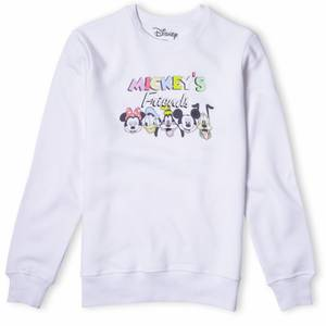 Disney Mickey's Friends Sweatshirt - White