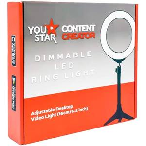 LED Ring Light 16cm with Mini Tripod