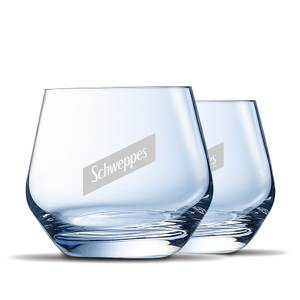 Schweppes Glasses (Pack of 2)