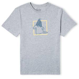 Looney Tunes Daffy Duck Unisex T-Shirt - Grey