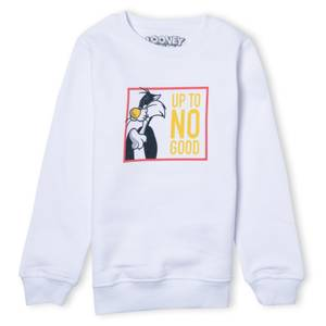 Looney Tunes Up To No Good Kids' Sweatshirt - White