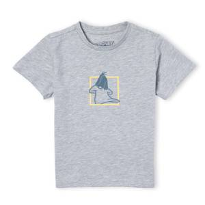 Looney Tunes Daffy Duck Kids' T-Shirt - Grey