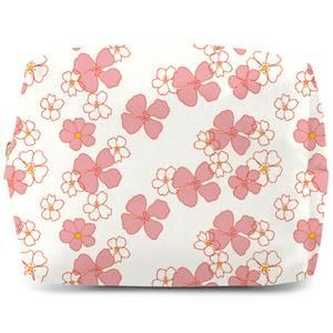 Floral Retro Makeup Bag