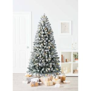 6.5ft Chaumont Spruce Pre-lit Artificial Christmas Tree