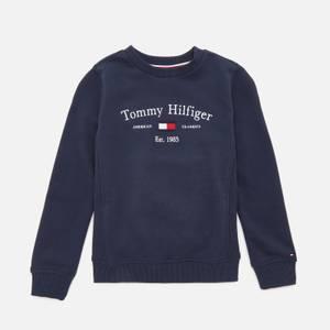 Tommy Hilfiger Boys' Artwork Sweatshirt - Twilight Navy