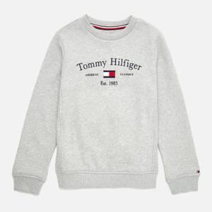 Tommy Hilfiger Boys' Artwork Sweatshirt - Grey Heather