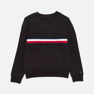 Tommy Hilfiger Boys' Embossed Sweatshirt - Black