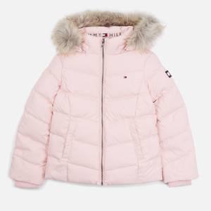 Tommy Hilfiger Girls' Essential Down Jacket - Delicate Pink