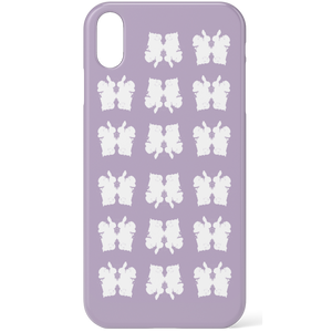 Rorschach Inkblots Purple Phone Case for iPhone and Android