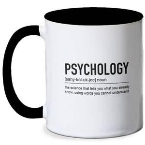 Psychology Definition Mug - White/Black