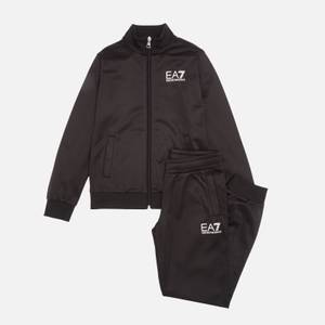 EA7 Boys' Train Core Id Tracksuit - Black
