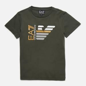 EA7 Boys' Capsule Collection T-Shirt - Green