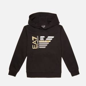 EA7 Boys' Capsule Collection Hoodie - Black