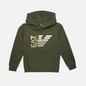 EA7 Boys' Capsule Collection Hoodie - Khaki