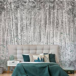Painterly Woods Shadow Wall Mural